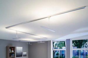 Варианты потолочного освещения