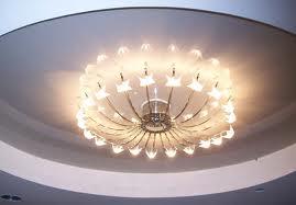 Освещение высокого потолка
