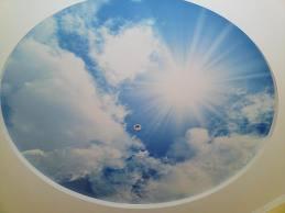 Потолки с изображением голубого неба