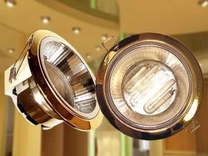 Встраиваемые светильники в потолок