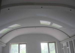 Куполообразная форма потолка