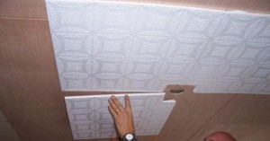 Декоративная плитка для потолка