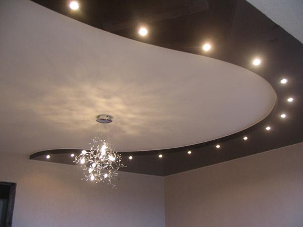 люстры для зала для натяжных потолков фото