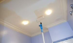 Инструмент для покраски потолка