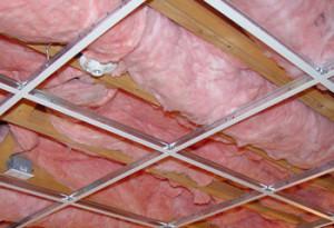 Утеплитель на потолке