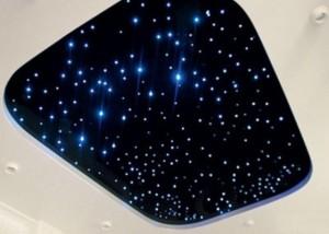 Потолок с изображением звездного неба