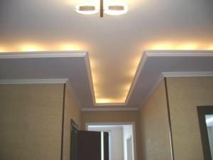 Потолок со светящим эффектом