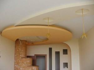 Подвесной вариант потолка