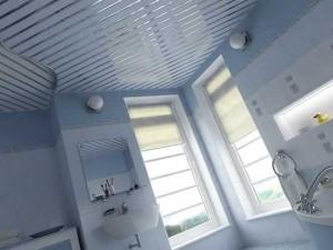 Вариант потолка в ванной