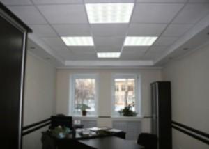 Офисный вариант люминесцентного освещения