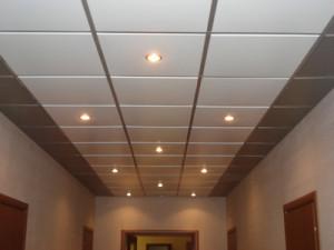 потолок смонтирован