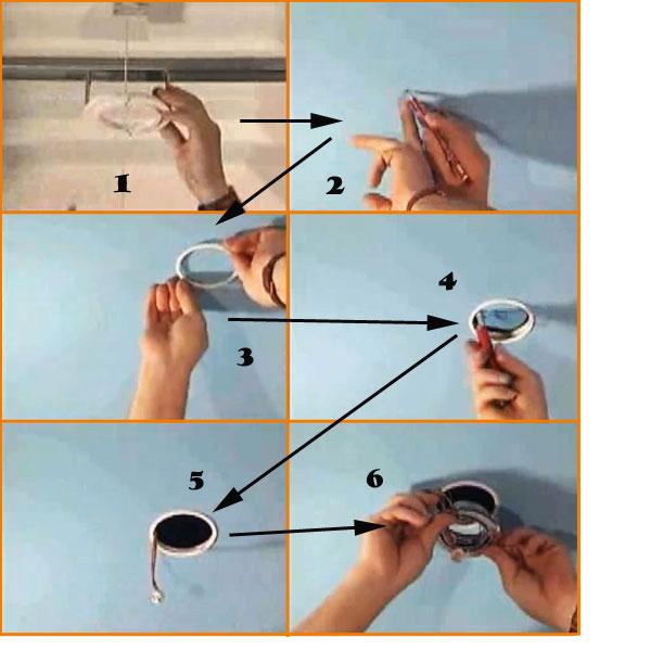 Установка точечного светильника своими руками фото 665