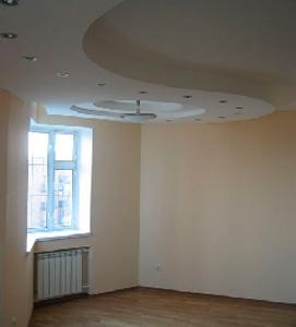 Смонтированный потолок
