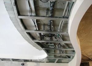 Каркас подвесного потолока