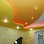 Покраска поверхности потолка