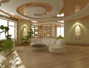 Потолок - важные элемент декора