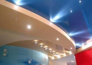 Гипсокартонные панели с подсветкой