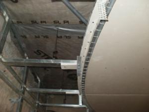 Монтаж второго уровня потолка