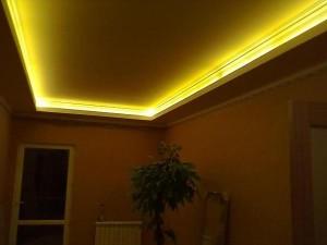 Светодиодное освещение потолка