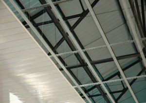 Крепление ПВХ панели на потолок