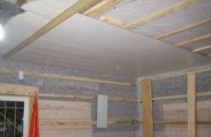 Монтаж стен и пола из панелей