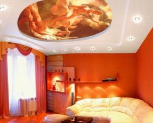 С помощью потолка можно выделить любую зону
