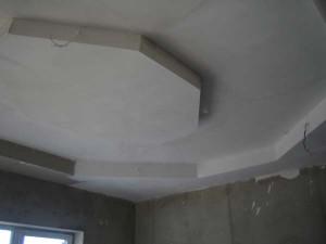 Провешивание потолка