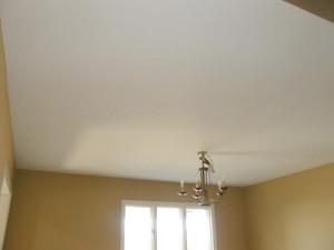 Самый простой и дешевый ремонт потолка