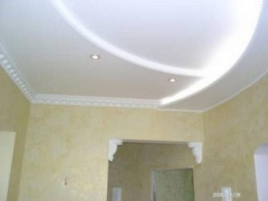 Потолок сделанный самостоятельно