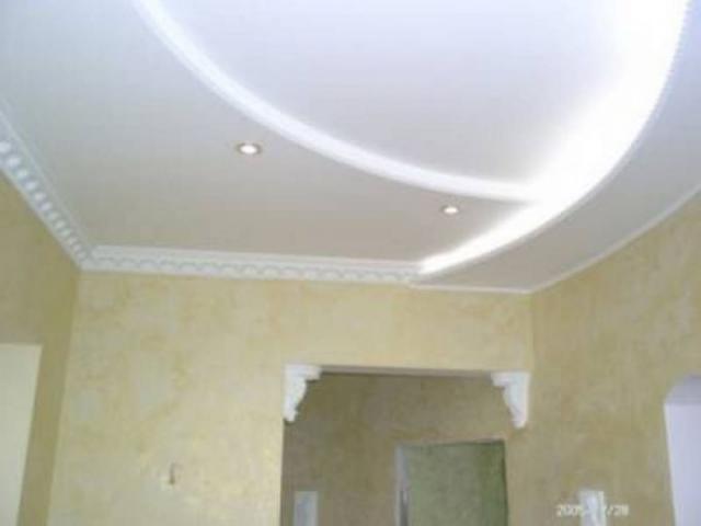 Инструкция потолок из гипсокартона
