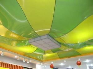 Эксклюзивный потолок почти готов