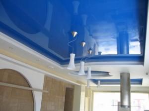Глянец на потолке