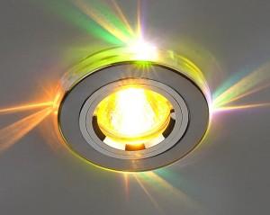 Вариант многоцветной светодиодной лампы