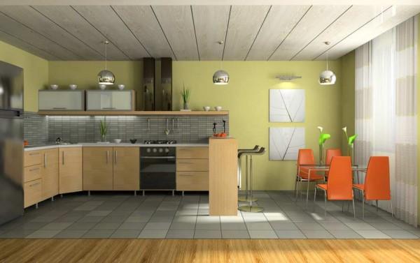 Как сделать потолок на кухне из пластиковых панелей