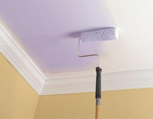 окраска потолка водоэмульсионным составом
