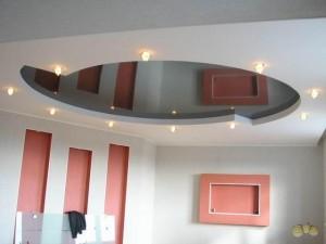 Немного практики и такой потолок может сделать новичок