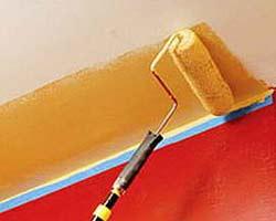 Краска создает рельеф