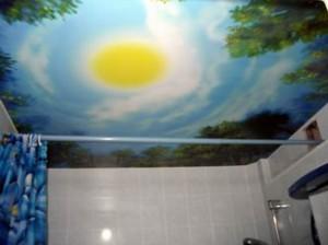 Матерчатый потолок