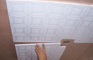 Технология монтажа потолочной плитки