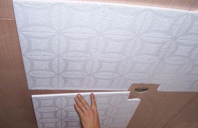 Технология выравнивания потолка шпаклевкой