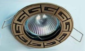 Оригинальный дизайн точечного светильника