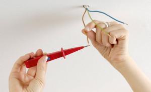 Три потолочных провода