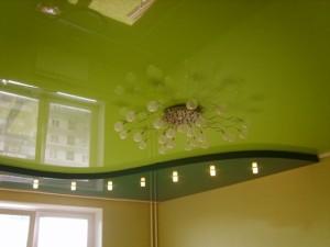 Зеленый потолок