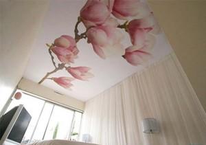 Цветы на потолке - это реально!