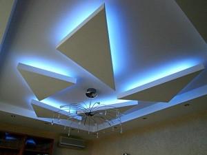 """""""Синий потолок"""" - уникальный дизайн"""