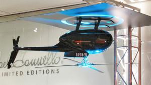 Современный дизайн в виде вертолета
