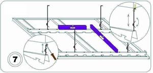 Инструкция по монтажу алюминиевых потолков