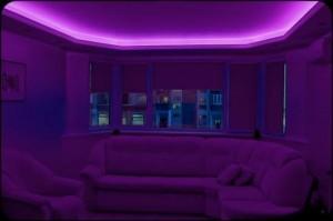 Комната в романтичном полумраке