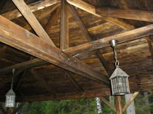Балки —  несущие детали дома