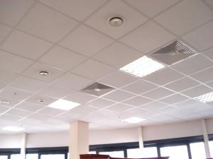 Потолок Armstron в офисе